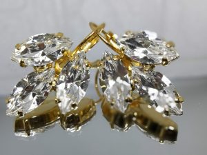 marquise earrings in a nickel-free gold finish. Model # 404 ₪247.00Price Quantity 1 Add to Cart Buy Now Shiny' cristal swarovski